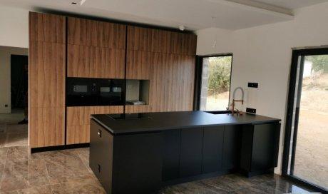 Réagencement et rénovation complète d'une maison moderne à Feyzin